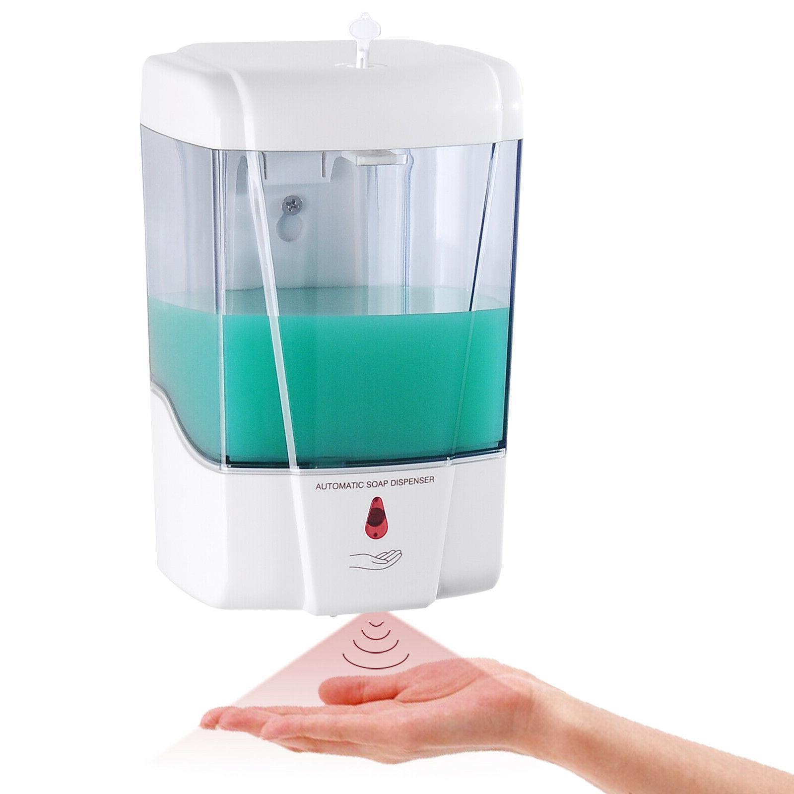 automatic soap dispenser wall mount touchless soap