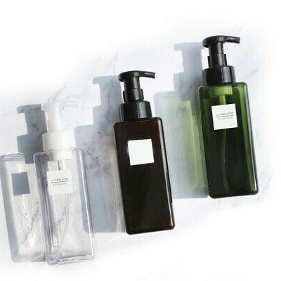 Bathroom Soap Dispenser Kitchen Sink Shower Shampoo Reusable
