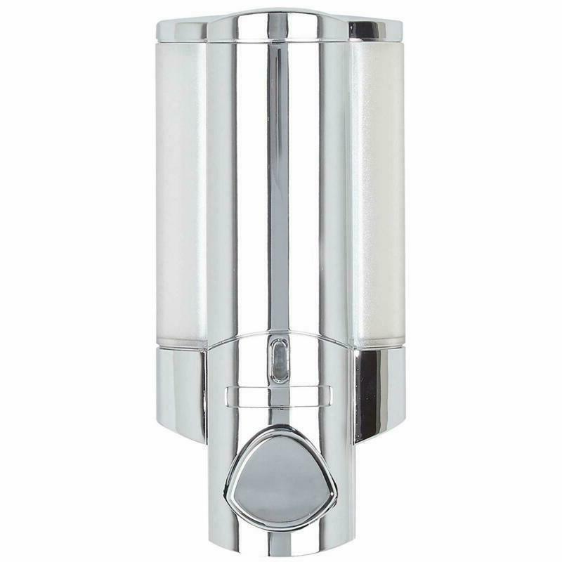Better Living Aviva Single Bottle Dispenser, Chrome