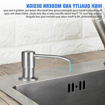 300ML Dispenser Kitchen Steel Hands Liquid