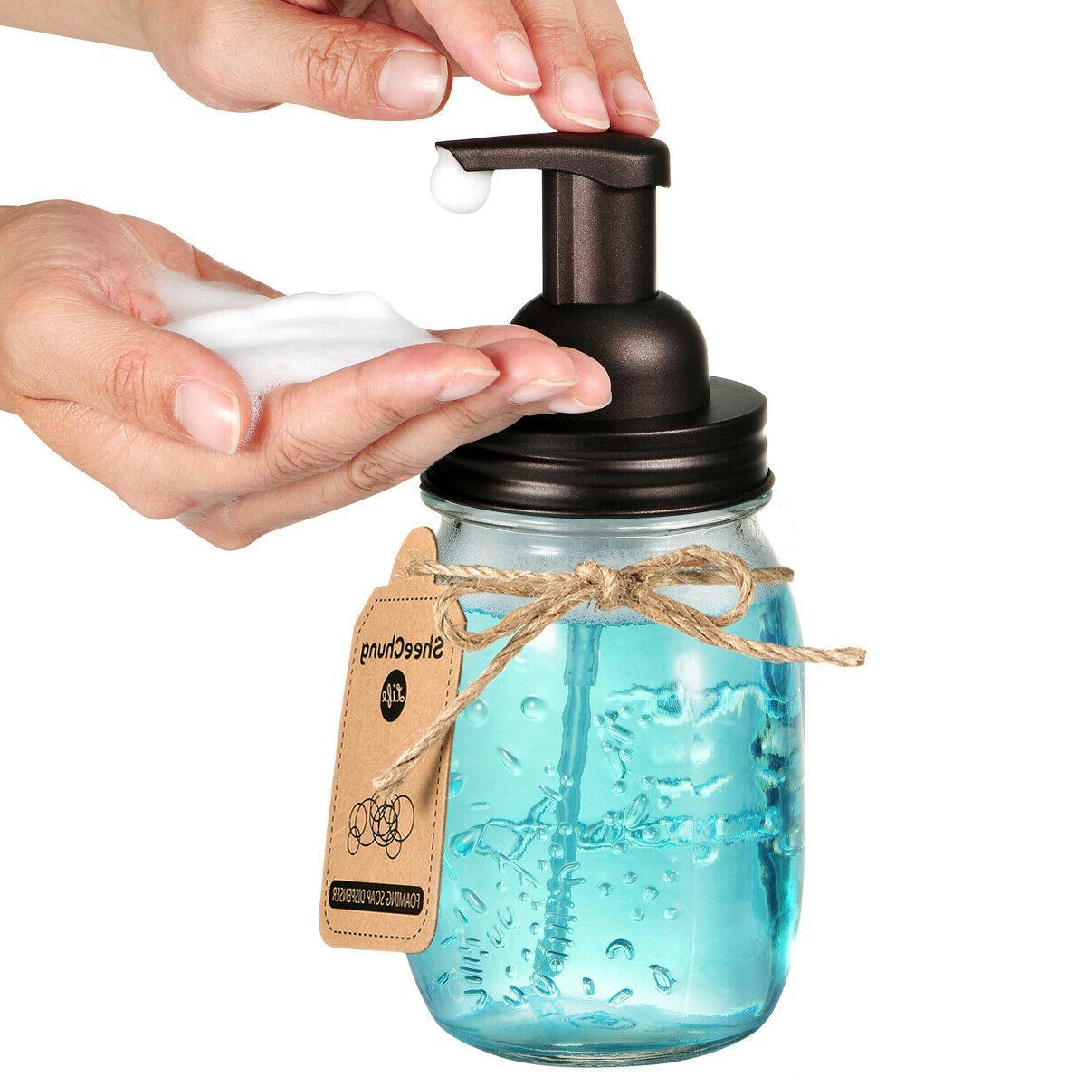 Bronze Mason Soap Pump Hand Qtip Apothecary