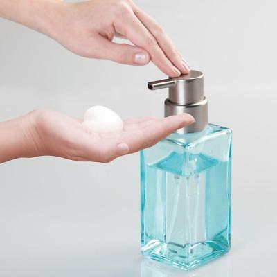InterDesign Casilla Glass Soap Pump Kitchen,
