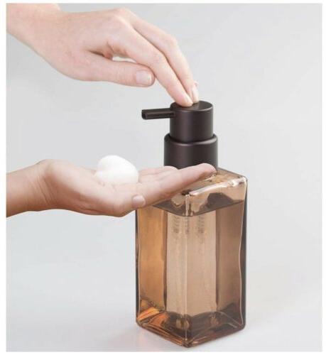 InterDesign Casilla Glass Soap Pump. Bathroom