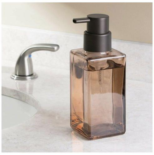 casilla glass foaming soap dispenser pump kitchen