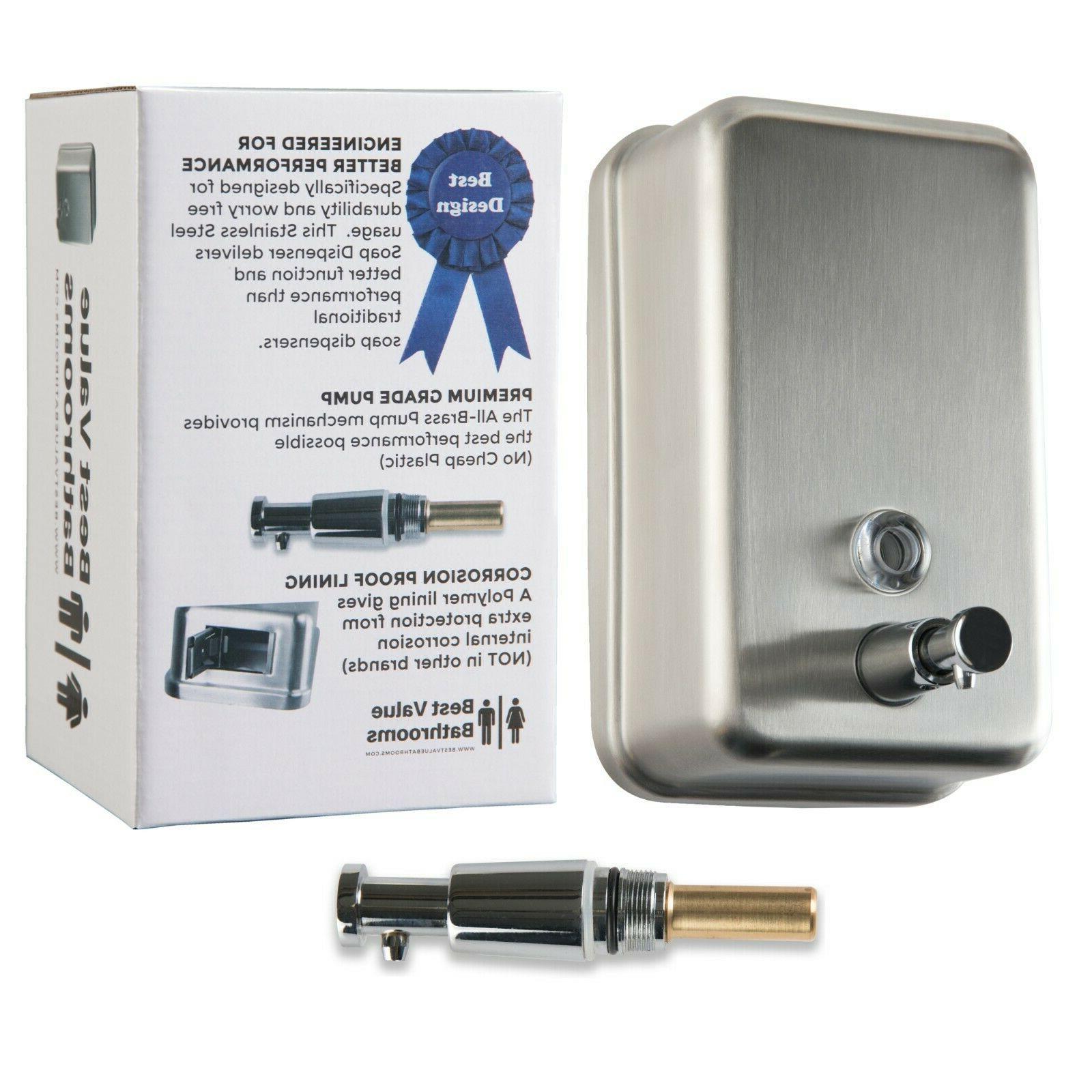 Commercial Dispenser Mount - Steel - Design