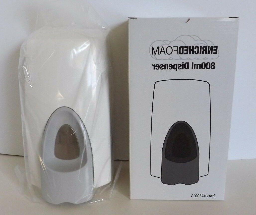 commercial soap lotion sanitizer dispenser white restaurants