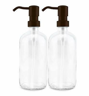 Cornucopia 16oz Dispensers 2-Pack Clear Pu...