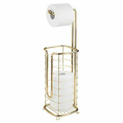 decorative metal standing toilet paper