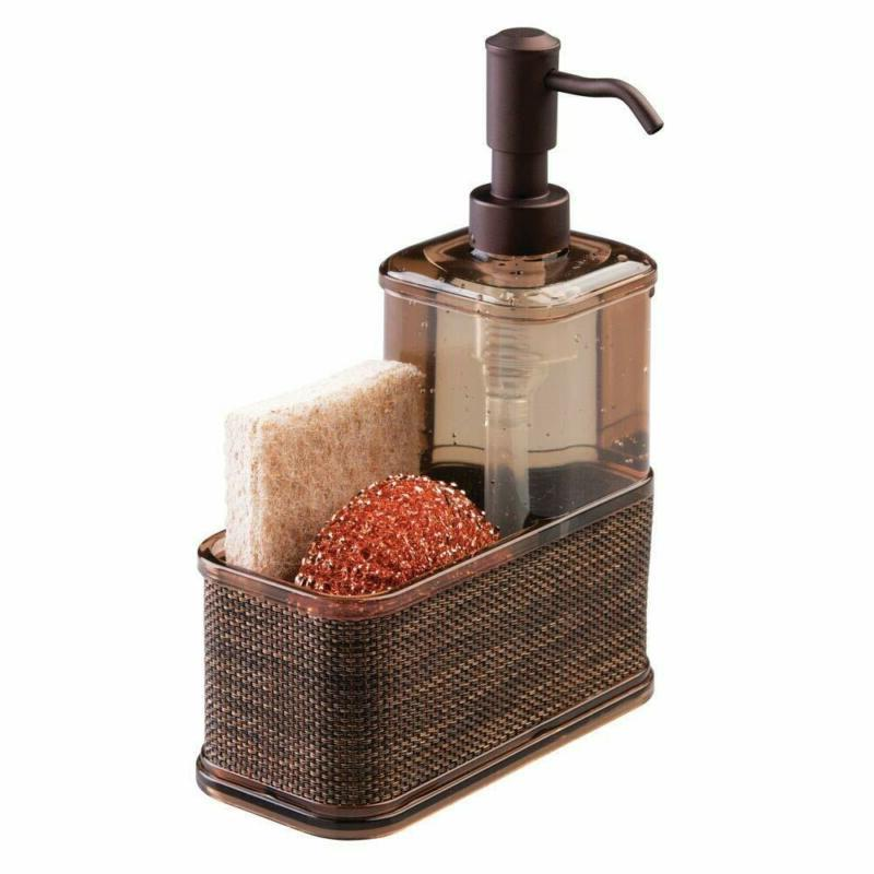mDesign Sink Countertop Hand Soap Pu