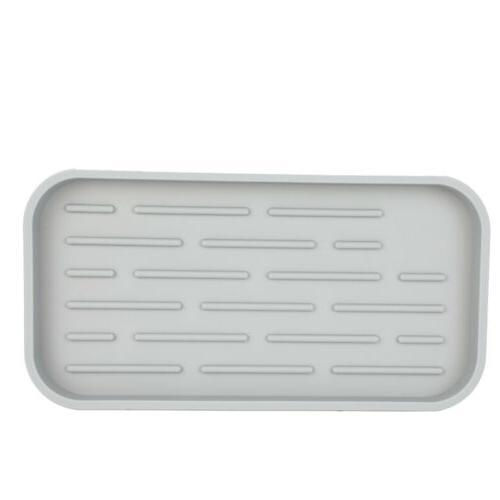 Kitchen Holder Silicone Sink Tray Dispenser Mat