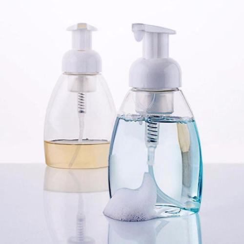 empty pump dispenser bottle lotion shampoo foaming