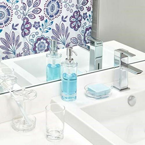 iDesign Eva Soap Lotion Dispenser Kitchen Bathroom