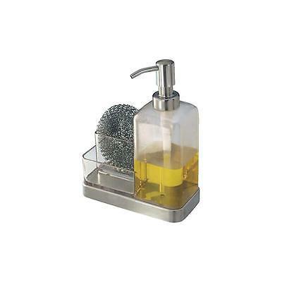 forma soap dispenser and sponge caddy