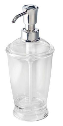InterDesign Franklin 12 oz Plastic Soap Pump Dispenser  4562