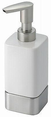 InterDesign Gia Ceramic Soap & Lotion Dispenser, for Kitchen