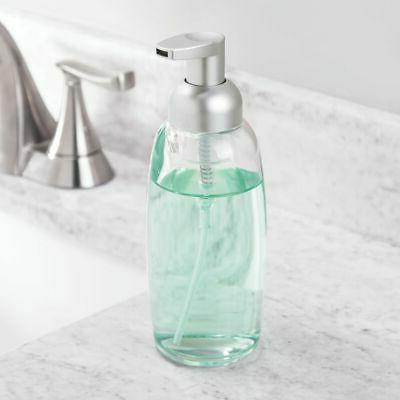 mDesign Glass Soap