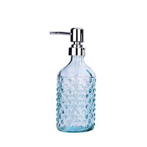 glass soap lotion dispenser