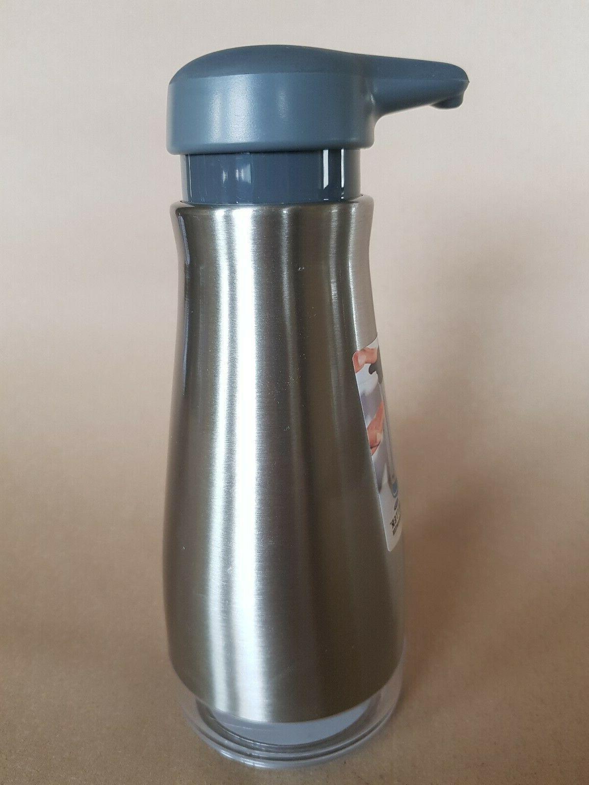 OXO Good Steel Soap Dispenser New
