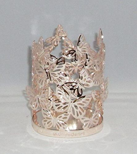 hand soap holder gold butterfly