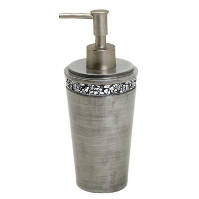 Zenna Home, India Ink Altair Lotion or Soap Dispenser, Pewte