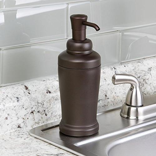 InterDesign Kent Soap Dispenser Or Kitchen Bronze 2,