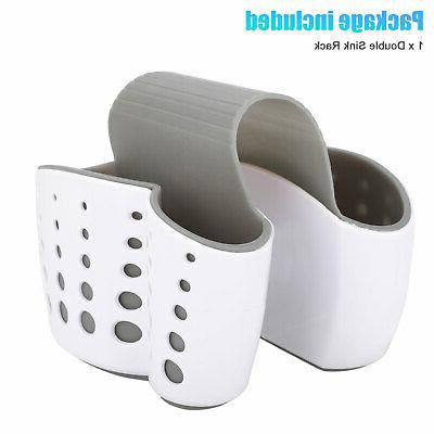 Kitchen Organizer Sink Basket Dish Cleaning Sponge Holder Soap