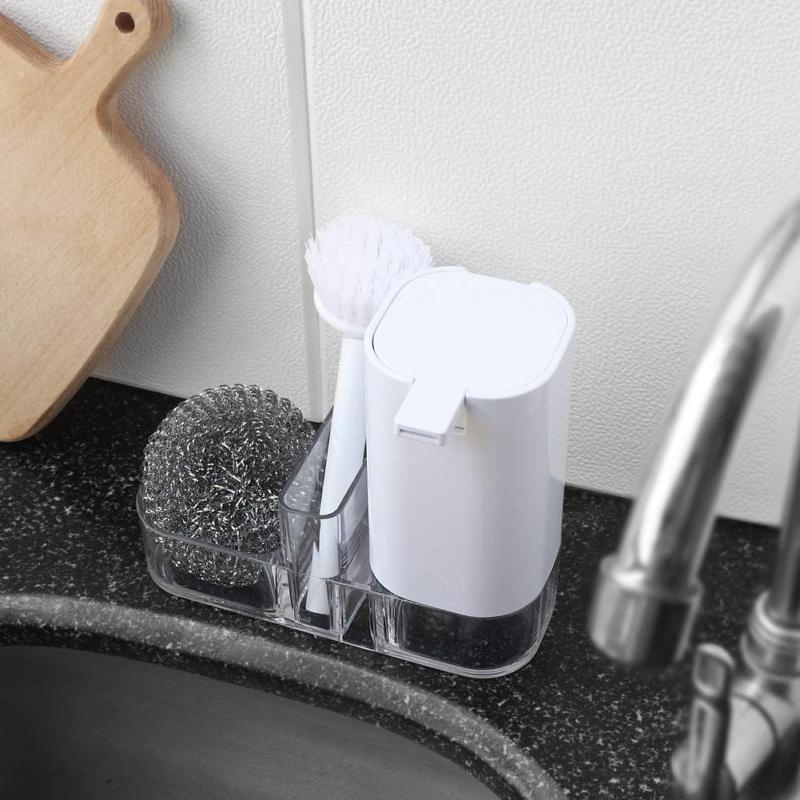 Kitchen Sink Organizer Soap Multifunctional Cl