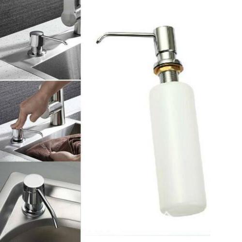 Shampoo Pump Soap Dispenser Kitchen Sink Soap Hand Liquid Pu