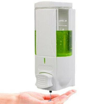 US Liquid Soap Dispenser Wall Mounted Bathroom Hand Sanitize
