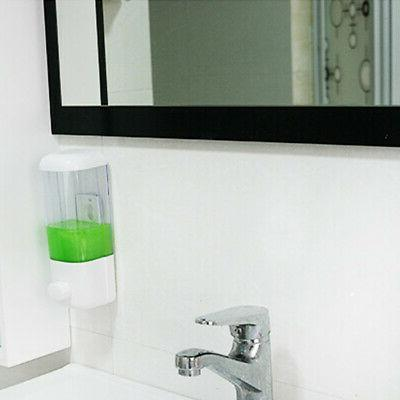 US Wall Soap Dispenser Wash Toilet Gel Pump