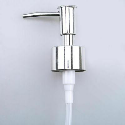US 2/8Pcs Liquid Soap Dispenser Shapoo Head Replacement Loti