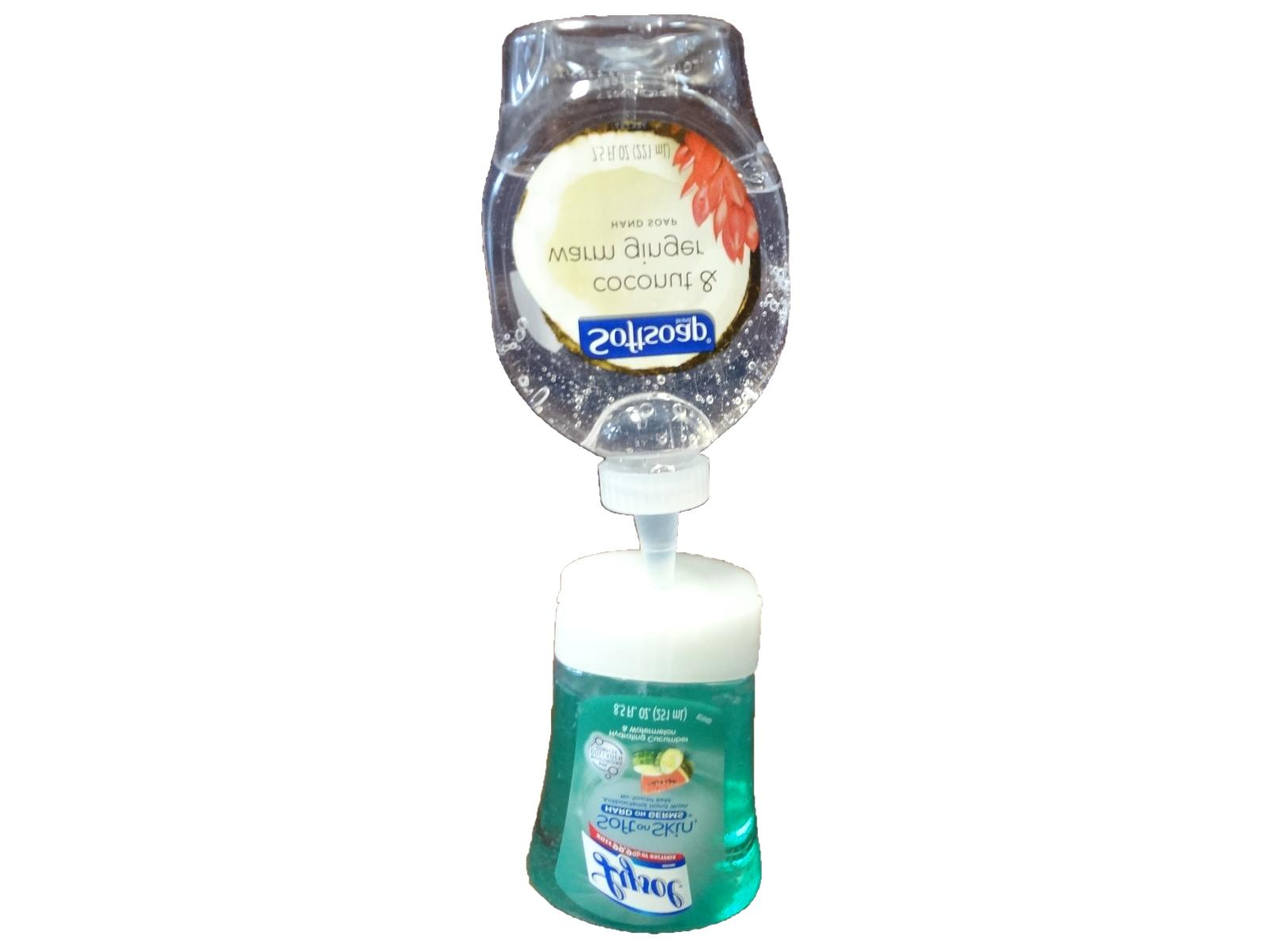 lysol no touch soap refill adapter kit