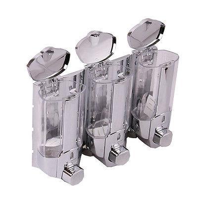 3 in Wall Mount Soap Shampoo Dispenser Pump