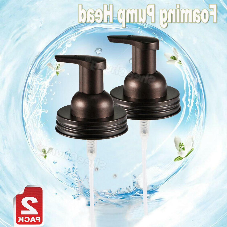 Mason Dispenser Pump &Replacement Jar Lids Regular Mason