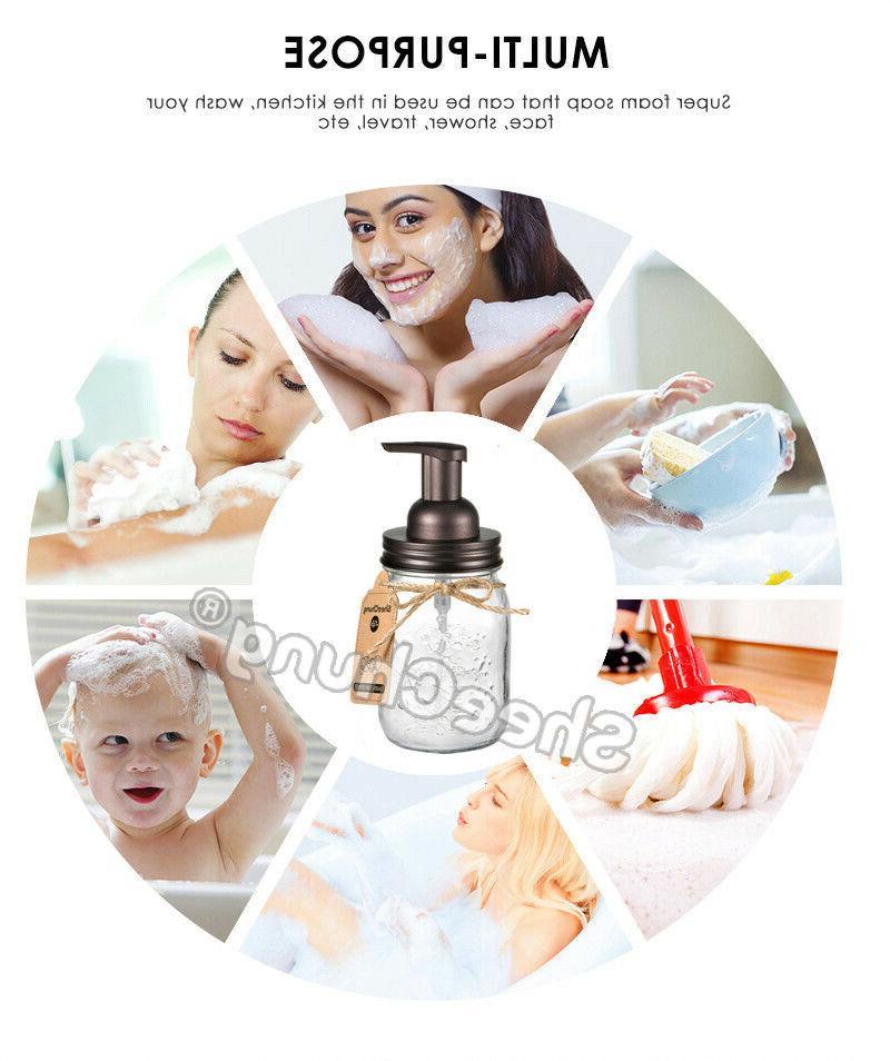Mason Jar Dispenser Pump Jar Lids