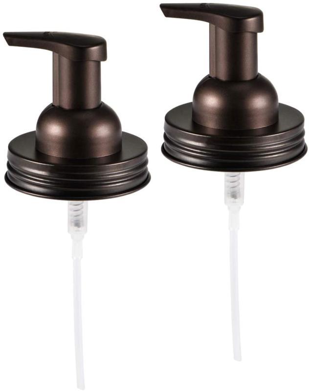 Mason Jar Soap Dispenser Lid Premium Foaming Hand Soap Dispe
