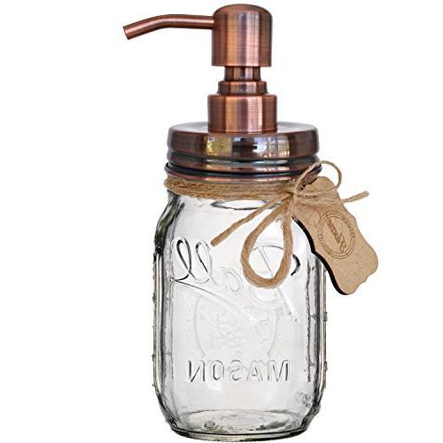 mason jar soap pump lotion