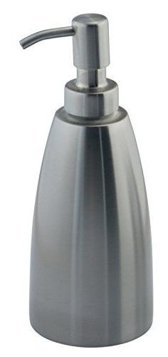 mDesign Liquid Dispenser Pump Bottle Kitchen, Also Can Hand & Oils Steel