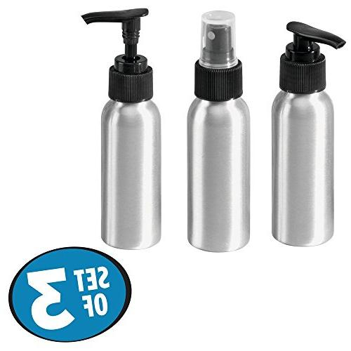 InterDesign Spray Dispenser Pumps Set of