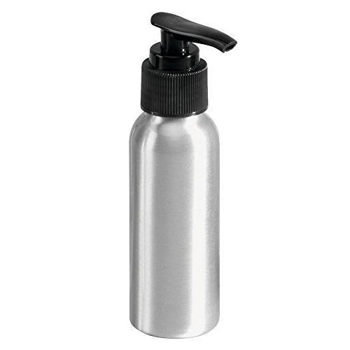 InterDesign Metro Aluminum Spray Dispenser Pumps - of 3, Aluminum