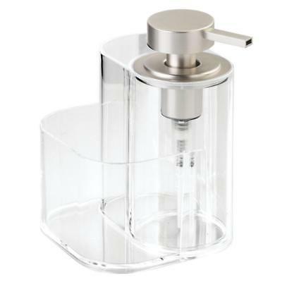 InterDesign Midi Kitchen Soap Dispenser Sponge and Scrubby ...
