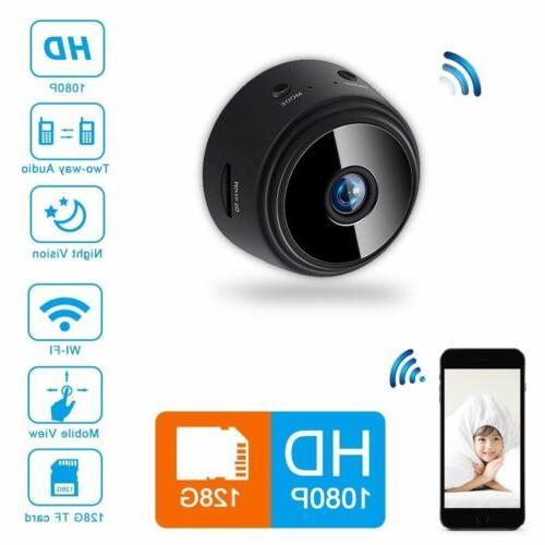 Mini Spy Wifi IP Home Vision Remote