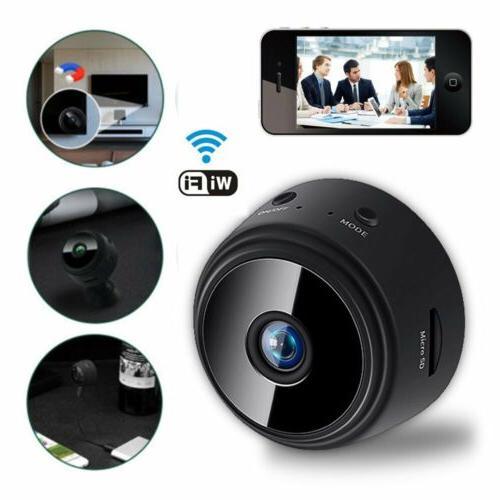 Mini Spy Camera Wifi Home Security HD 1080P Night Vision Remote