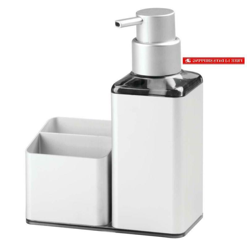 Mdesign Kitchen Sink Countertop Liquid Soap Pump