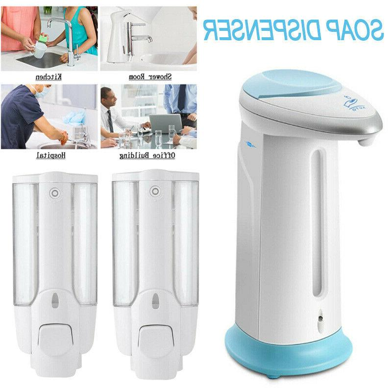 New 400ML Automatic Soap Dispenser Touch-less Water-Resistant