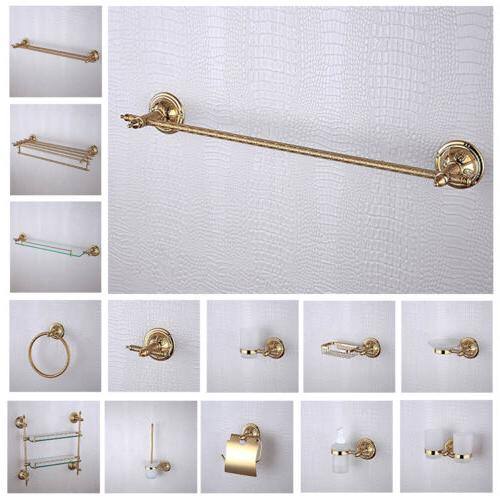 New Modern Bathroom Accessories Hardware Ti-PVD Finished Wal