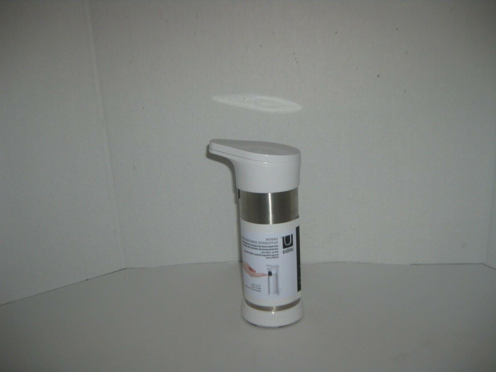 NEW UMBRA SAVON AUTOMATIC SOAP DISPENSER 8 OZ TOUCH FREE