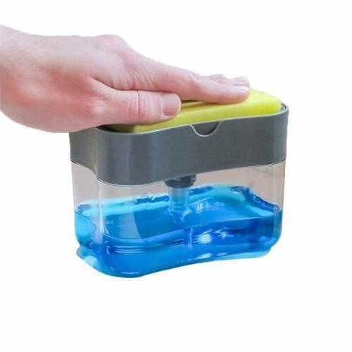 New & Sponge Holder for Kitchen Dish Soap Sponge