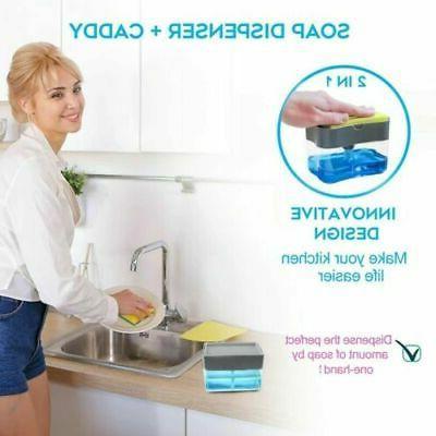 & Holder for Kitchen Soap Sponge