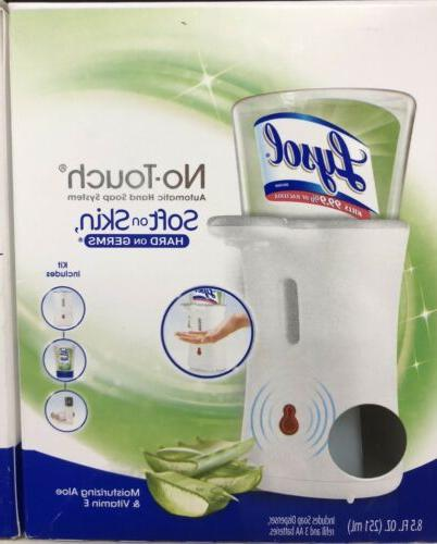no touch automatic hand soap dispenser w